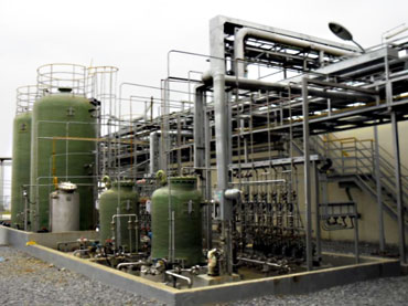 Wastewater Facility for Chemical Factory
